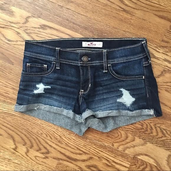 Hollister Pants - Hollister like new denim shorts size 5